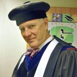 Professor Richard de Neufville in graduation regalia